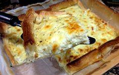 Quiche cebolla y queso