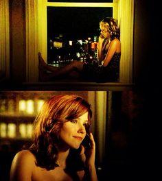 Brooke and Peyton talking on the phone early season 5