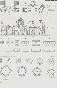 medidas mínimas mesa de 4 personas | Deco ideas | Pinterest