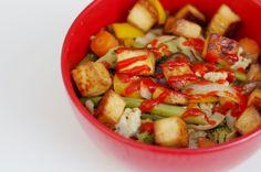 Meatless Monday: Baked Teriyaki Tofu Stir Fry