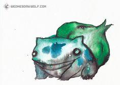 http://www.etsy.com/listing/99636967/no001-bulbasaur-matte-print-8x11