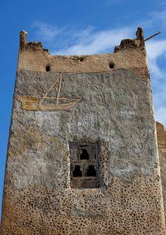 Old fisherman house in Mirbat - Oman by Eric Lafforgue, via Flickr