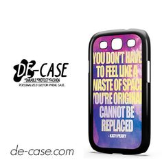 Katy Perry Lyrics DEAL-6107 Samsung Phonecase Cover For Samsung Galaxy S3 / S3 Mini