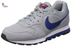 Nike  Md Runner 2, Gymnastique  homme - Multicolore - Multicolore (Stealth/Lyl Bl/Ttl Crmsn/White), 42 EU - Chaussures nike (*Partner-Link)