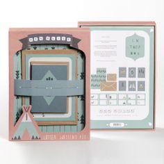 Letter Writing Kit, Ask Alice design