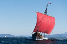 The Draken Harald Hårfagre has been sailing around the Great Lakes this summer…