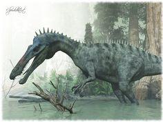 #Suchomimus tenerensis by ~Elperdido1965 #dinosaur