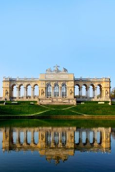 The Gloriette in the Schonbrunn Palace Garden, Vienna, Austria | Amazing Photography Of Cities and Famous Landmarks From Around The World #3rdrockadventures