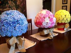 Cake Ball Flower Pot Bouquet | Posted by Anh Hoang at 2:08 PM