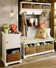 Wooden Mudroom Bench With Storage Ideas Mud Room Plan Treenovation Throughout Decor Ana White Fancy Hall Tree Diy Projects Modern Entryway Search Results Foyer Benches Regarding Built In Bench, Bench With Storage, Storage Ideas, Shoe Storage, Small Bench, Storage Baskets, Bench Seat, Diy Storage, Coat Storage