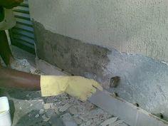 DR. PAREDE BLOG DA SOLUENGE: Patologias em paredes I - Infiltração por capilaridade Construction Design, Civil Engineering, Concrete, Architecture, Blog, Diy, House Plans With Porches, Small Yard Pools, Sound Proofing