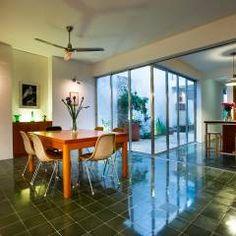 Casa del Arbol: Comedores de estilo Moderno por Taller Estilo Arquitectura