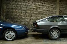Alfa Romeo GTV6 + 916 Spider