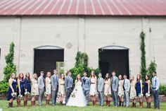chambray, navy, and palest peach bridal party Wedding Inspiration, Design Inspiration, Wedding Ideas, Hits Close To Home, Texas Ranch, Bridal Parties, Bridesmaids And Groomsmen, Southern Weddings, Flora And Fauna