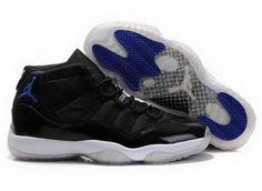 sneakers for cheap 33699 d3837 Chaussures Air Jordan 11 Blanc  Noir  Bleu -   Nike Chaussure Pas Cher,Nike  Blazer and Timerland