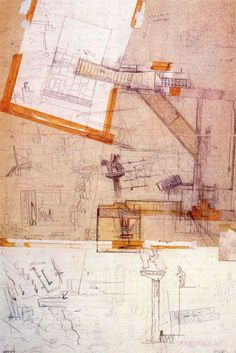 Architectural Expression. Isabel Espinar: Carlo Scarpa drawings
