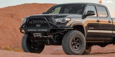 Toyota Tacoma Block - D751 Gallery - Fuel Off-Road Wheels Off Road Wheels, Trd Pro, Toyota Tacoma, Offroad, 4x4, Monster Trucks, Gallery, Off Road, Roof Rack