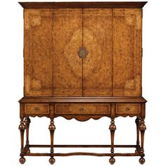Jonathan Charles Seaweed TV Cabinet with Open Base