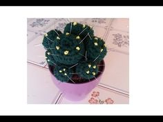 Tutorial crochet/ganchillo, cactus bolitas - YouTube