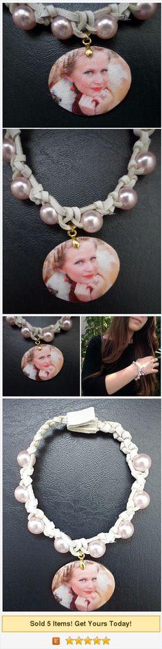 Photo bracelet, custom photo jewelry, custom photo pendant, custom photo charms, grandmother bracelet, custom photo gift https://www.etsy.com/MadeLeather/listing/557820677/photo-bracelet-custom-photo-jewelry?ref=related-2