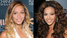 Beyonce blonde and brunette hair colors