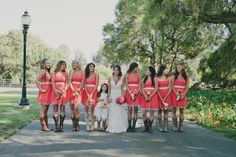 Country Bridesmaid Dresses from rusticweddingchic.com