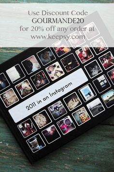 Keepsy (create instagram photobooks)