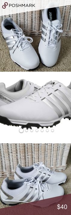 adidas adipower TR Golf Shoes Size 9 NEW NEW without box adidas mens golf shoes. 6 spike design for traction and stability. From a smoke-free home. adidas Shoes Athletic Shoes