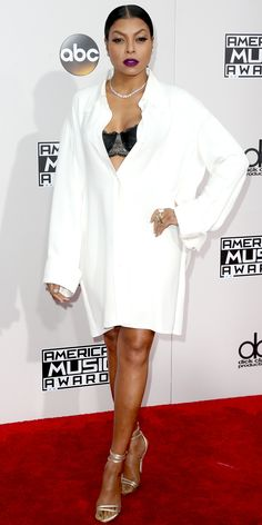 The Best Red Carpet Looks from the 2016 American Music Awards - Taraji P. Henson from InStyle.com