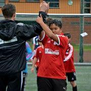 Julian og trener Filip