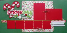 Christmas Scrapbook Double Page Layouts | Two Scrapbook Friends: New Kit Club Kits Now Available!