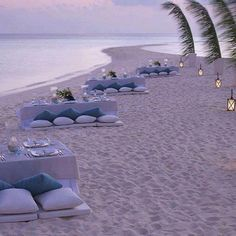 lounging on the beach this way at sunset = perfection.