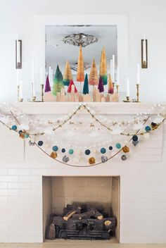DIY Swan Garland – A Beautiful Mess
