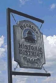 The Decatur  Illinois historic district