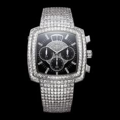 White gold Diamond Flyback chronograph Watch G0A33145 - Piaget Luxury Watch Online