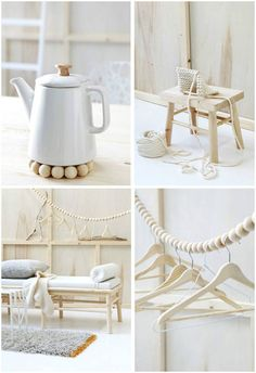 Morning delight: Pure, simple, white! | Art And Chic Interior Inspiration, Room Inspiration, Home Interior Design, Interior Decorating, White Wood, White Art, Blog Deco, White Home Decor, Vintage Diy