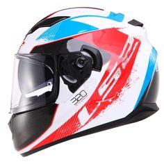 100.00$  Buy here - http://ali744.worldwells.pw/go.php?t=32730944508 - 100% Genuine famous brand full face motorcycle helmet Glass fiber casco double lens racing capacete mens helmet ls2 ff320 100.00$