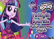 Twilight Sparkle Rainbooms Style | juegos my little pony - jugar mi pequeño pony