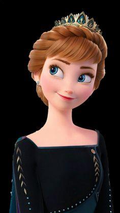 Disney Princess Paintings, Disney Princess Drawings, Disney Princess Pictures, Anna Disney, Disney Princess Frozen, Disney Art, Cartoon Girl Images, Cute Cartoon Girl, Wallpaper Iphone Disney
