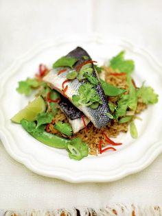 Thai Sea Bass | Fish Recipes | Jamie Oliver Recipes