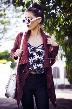 Mexiquer: Trendy Blogger Womens Fashion Thick Round Sunglasses 8980