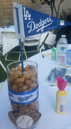 Dodgers centerpiece