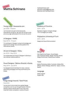 8 Beautiful Resumes Done Right (2020) | by bestfolios.com | Bestfolios | Medium Layout Design, Web Design, Graphic Design, Resume Layout, Resume Ideas, Ui Animation, Web Project, Encouragement, Education