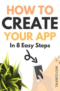 How to Create an App for Free Without Coding (DIY App Maker) Everything has been changed. Which someone has an idea to create an app - they can do it their self. That only you need a tutorial to go through. How To Make App, Create Your Own App, Create Yourself, How To Make Money, How To Build Apps, Free App Builder, Computer Coding, Build An App, Start Ups