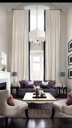 Elegant and stately sitting room.