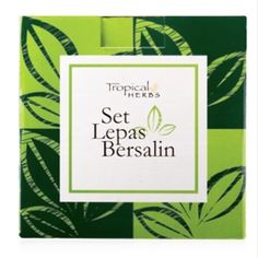 """""""As salam. Set lepas bersalin Tropical Herbs untuk ibu-ibu yang pantang yer. Leh cuba set ni. Harga biasa RM 365.70 Harga promo kami hanya RM 329 sahaja. This comprehensive system has 10 herbal components used over a period of 44 days for the complete care and recovery of new mothers after childbirth. Includes a FREE Post Natal Abdominal Binder with every purchase of the set. They are tropical formulations that contain herbs that have been used traditionally by the Chinese Indians and Malays…"""