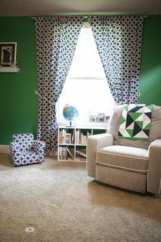 Branson's Emerald Green Nautical Nursery — My Room