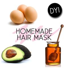 Health & Beauty :: DIY Homemade Hair Mask. I'd add some olive or coconut oil to this to really make it bangin.