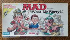 1988 Mad Magazine What Me Worry Parker Bros Board Game In Original Box Vintage #ParkerBros