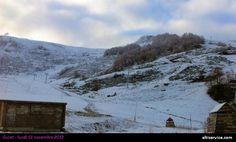 Première chute de neige - novembre 2012